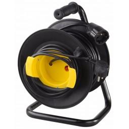 Удлинитель на катушке 30м (3х1.5 мм)  с заземлением